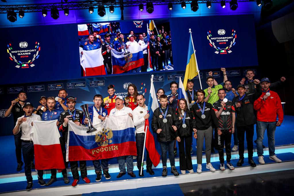 FIA Motorsport Games | Il resoconto di Vallelunga: Russia prima nel medagliere