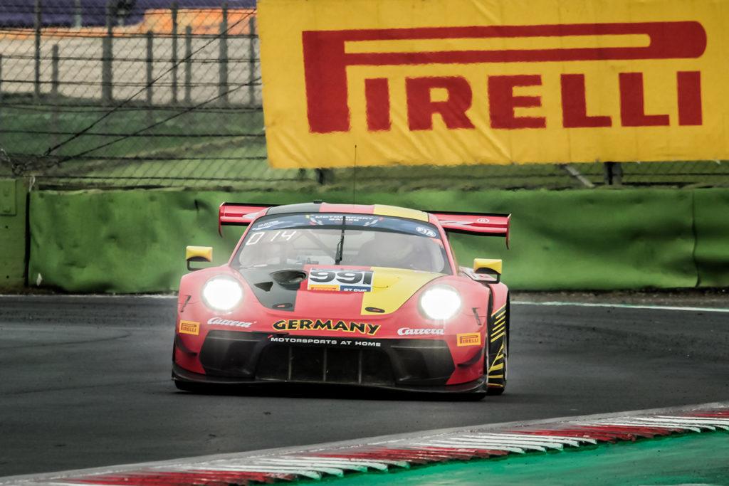 FIA Motorsport Games | GT Cup, Gara 1: successo della Germania con Goerig/Renauer