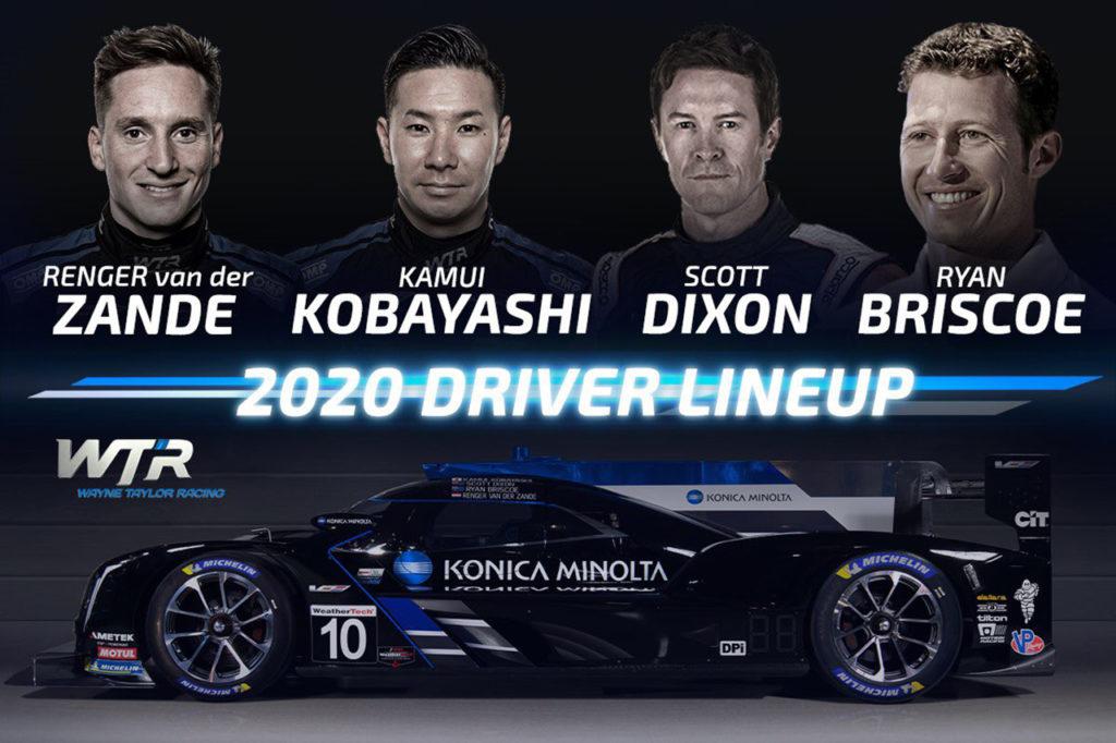 IMSA | Wayne Taylor Racing annuncia la line-up per il 2020