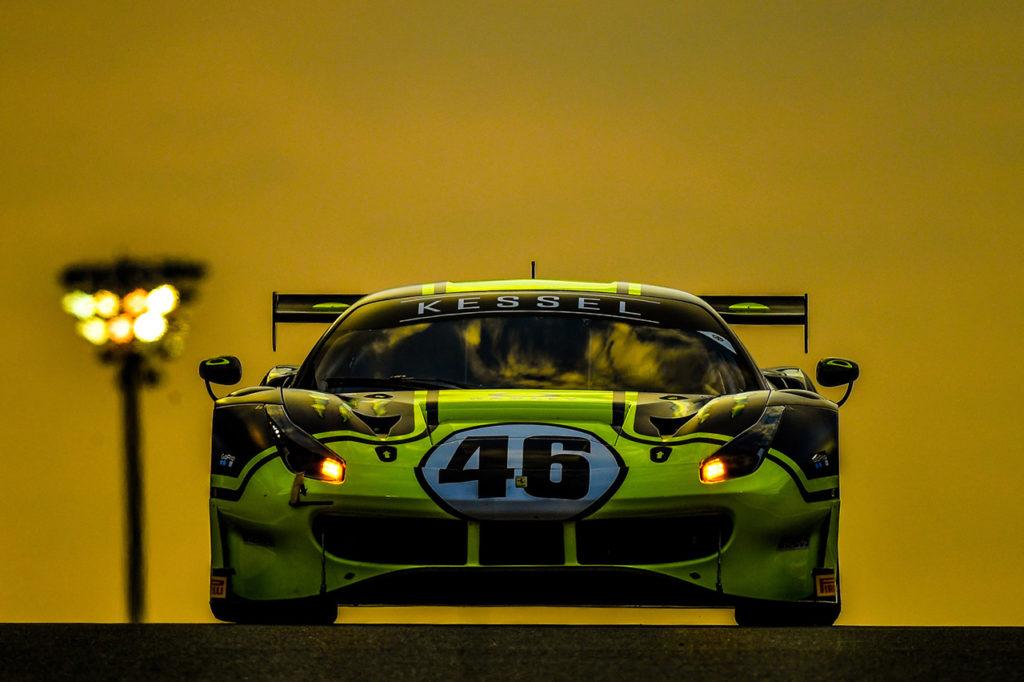 12 Ore del Golfo | Vittoria di classe e podio assoluto per Valentino Rossi con la Ferrari