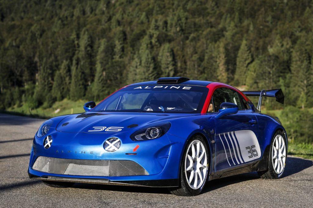 L'Alpine A110 Rally pronta per tornare nelle competizioni