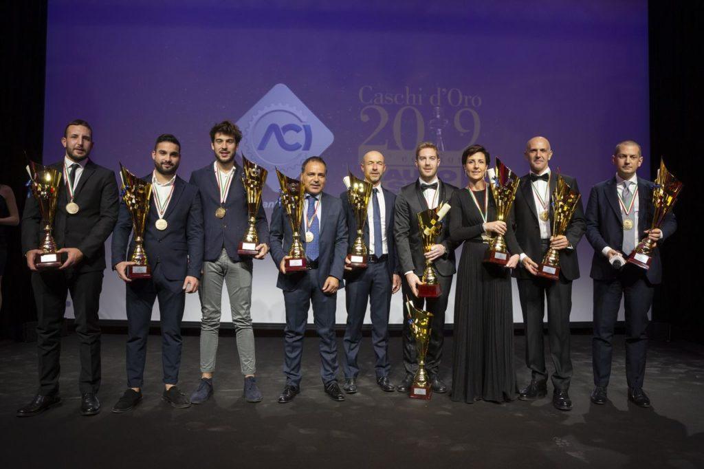 Caschi d'Oro e Volanti ACI, i premiati: da Pollara a Sticchi Damiani passando per Gasly e i protagonisti dei nostri rally