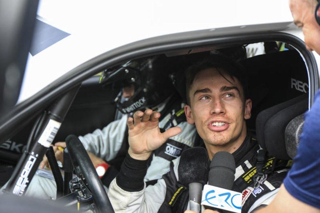 """Il """"passo in avanti"""" di Ingram: il campione ERC punta deciso verso il WRC"""