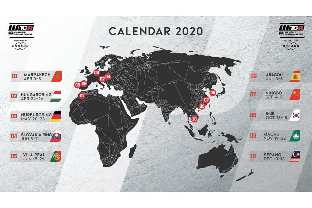 WTCR | Sud Corea e Spagna nel calendario 2020, addio Zandvoort e Suzuka