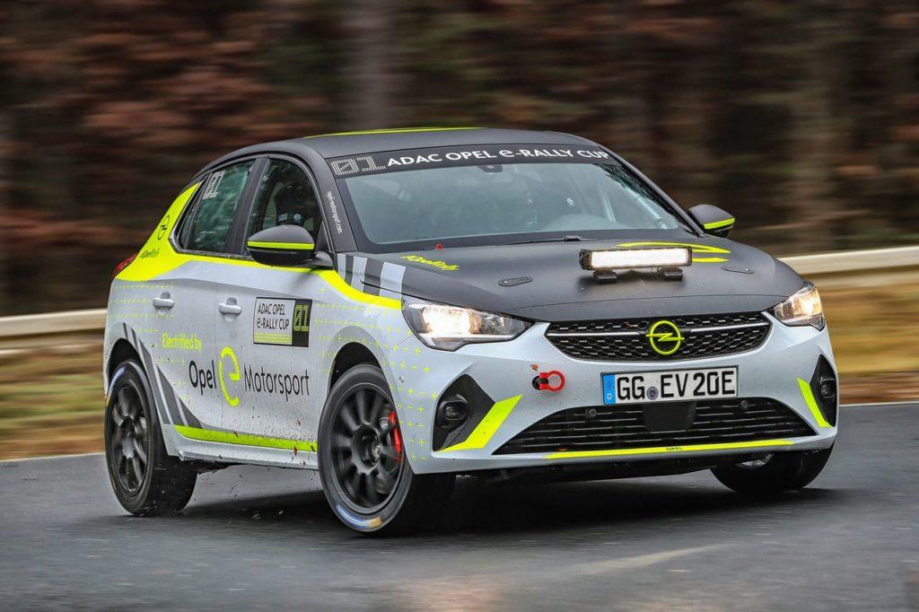 Opel Corsa-e Rally, entra nel vivo lo sviluppo dell'elettrica che debutterà nel 2020