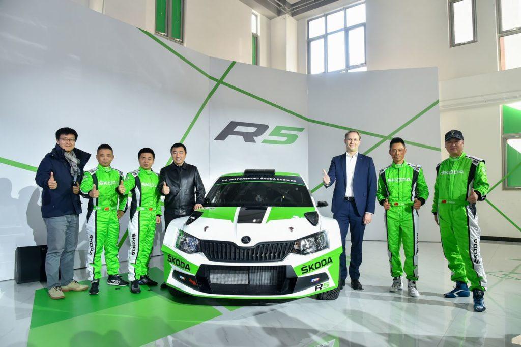 Skoda Motorsport sbarca in Cina con la Fabia R5