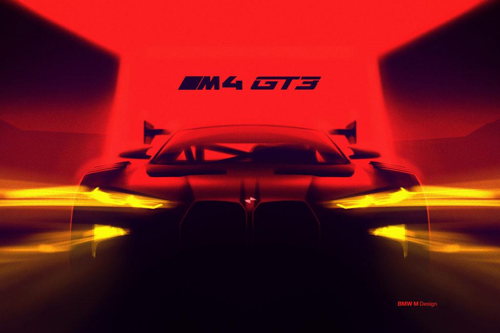 GT Series | In arrivo la BMW M4 GT3 a partire dal 2022