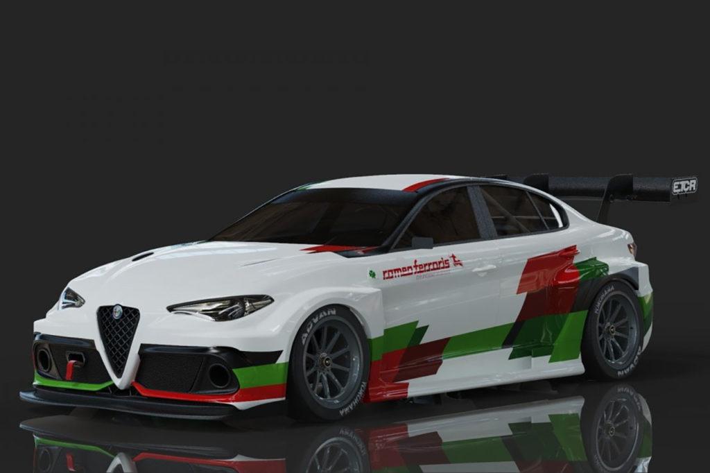 ETCR | Romeo Ferraris si lancia nell'elettrico con un'Alfa Romeo Giulia