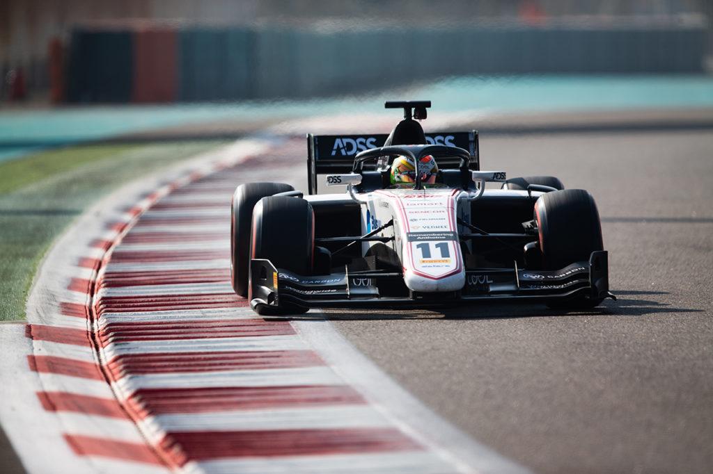 FIA F2   Test Abu Dhabi, Giorno 1: Deletraz al vertice, bene Armstrong