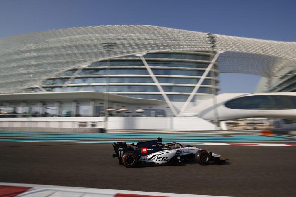 FIA F2 | Test Abu Dhabi, Giorno 2: ancora Deletraz al comando