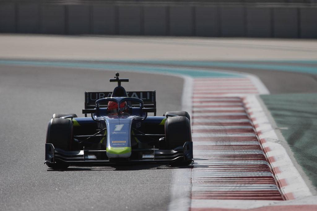 FIA F2 | Test Abu Dhabi, Giorno 3: Mazepin svetta con Carlin