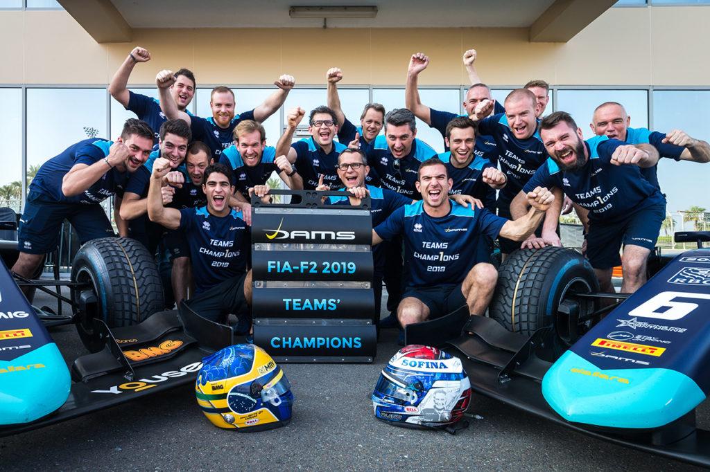 FIA F2 | Abu Dhabi, Gara 1 e 2: vittorie a Sette Camara e Ghiotto, DAMS campione