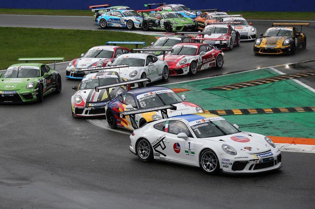 Porsche Carrera Cup Italia   Definito il calendario della stagione 2020
