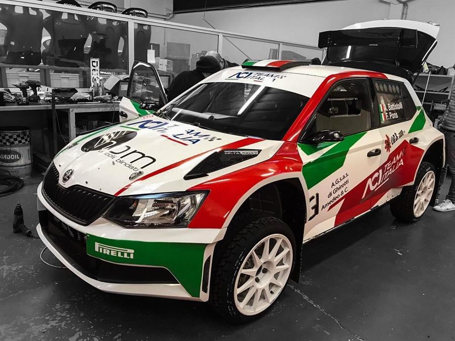 ACI Team Italia, Ciuffi e Battistolli si preparano al Rally di Svezia correndo al Covasna in Romania