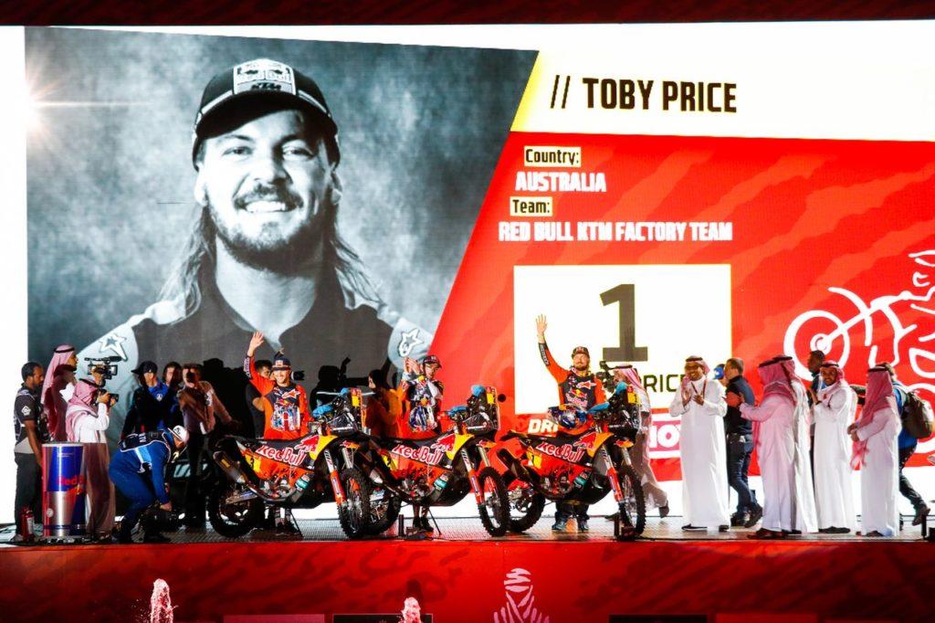 Dakar | Tappa 1, Moto: Toby Price ribadisce la sua leadership. Parte il duello tra KTM ed Honda