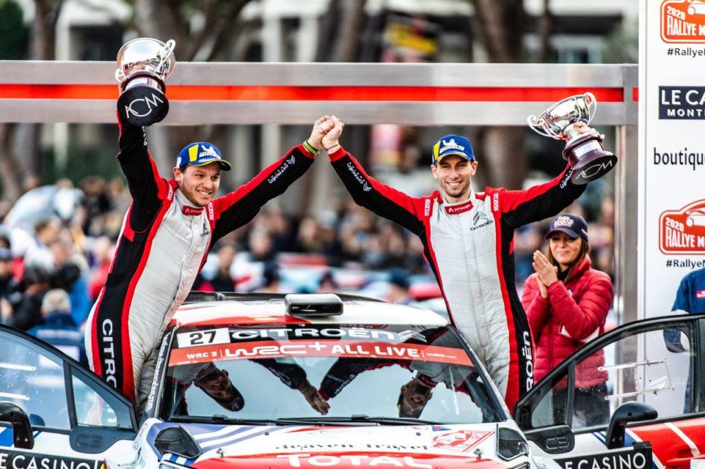 WRC | Al Rallye Monte Carlo parte bene la stagione di Citroen con i team clienti
