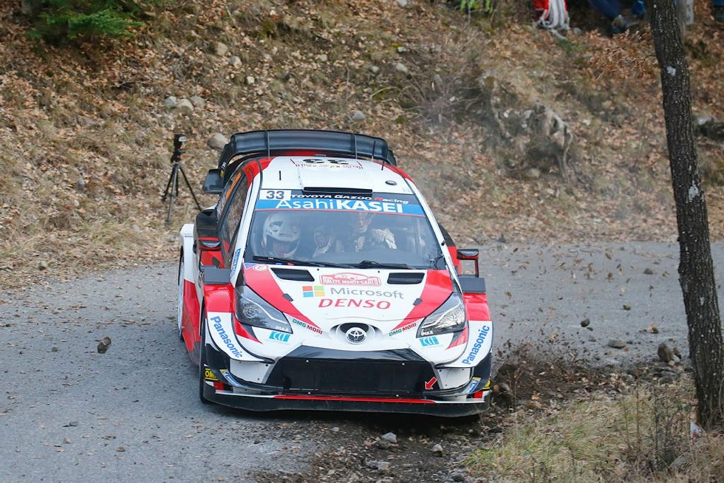 WRC | Rallye Monte Carlo 2020, Evans in vetta dopo la prima mattinata, seguito da Neuville ed Ogier