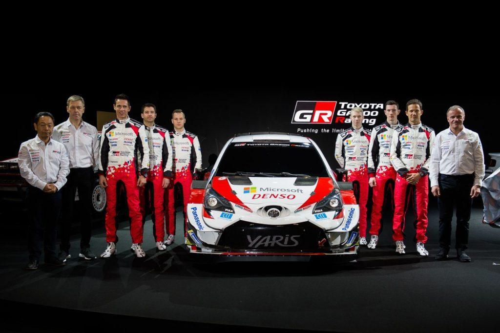 WRC | Toyota Gazoo Racing lancia la stagione 2020 al Tokyo Auto Salon