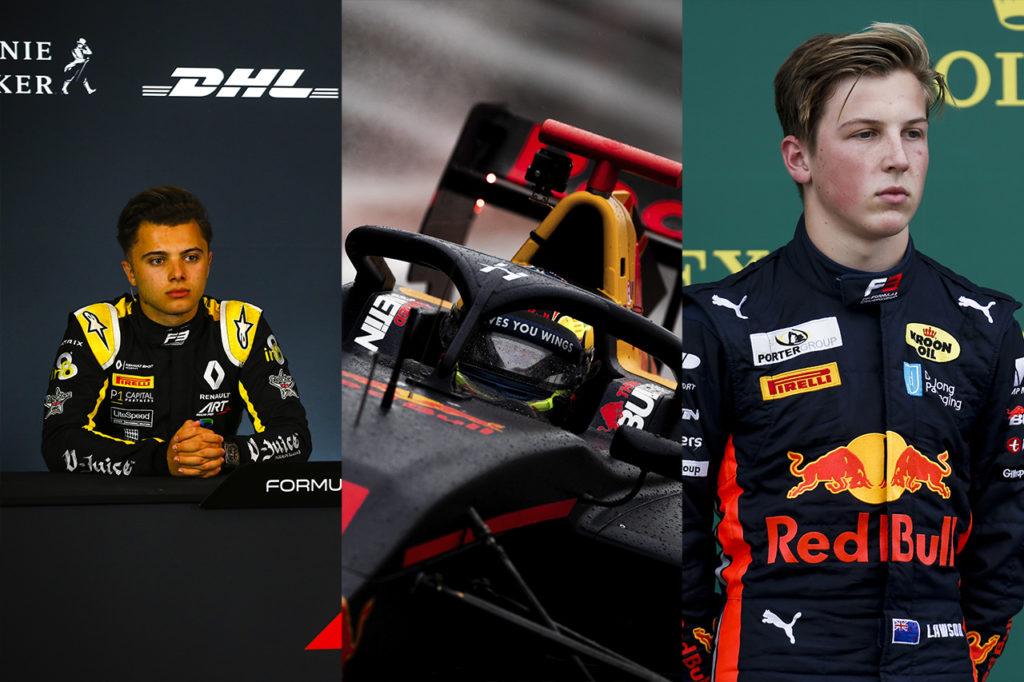 FIA F3 | Fewtrell, Hauger e Lawson con Hitech GP nel 2020