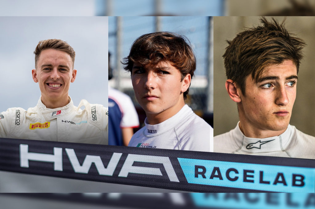 FIA F3 | HWA Racelab annuncia Hughes, Doohan e Fittipaldi per il 2020