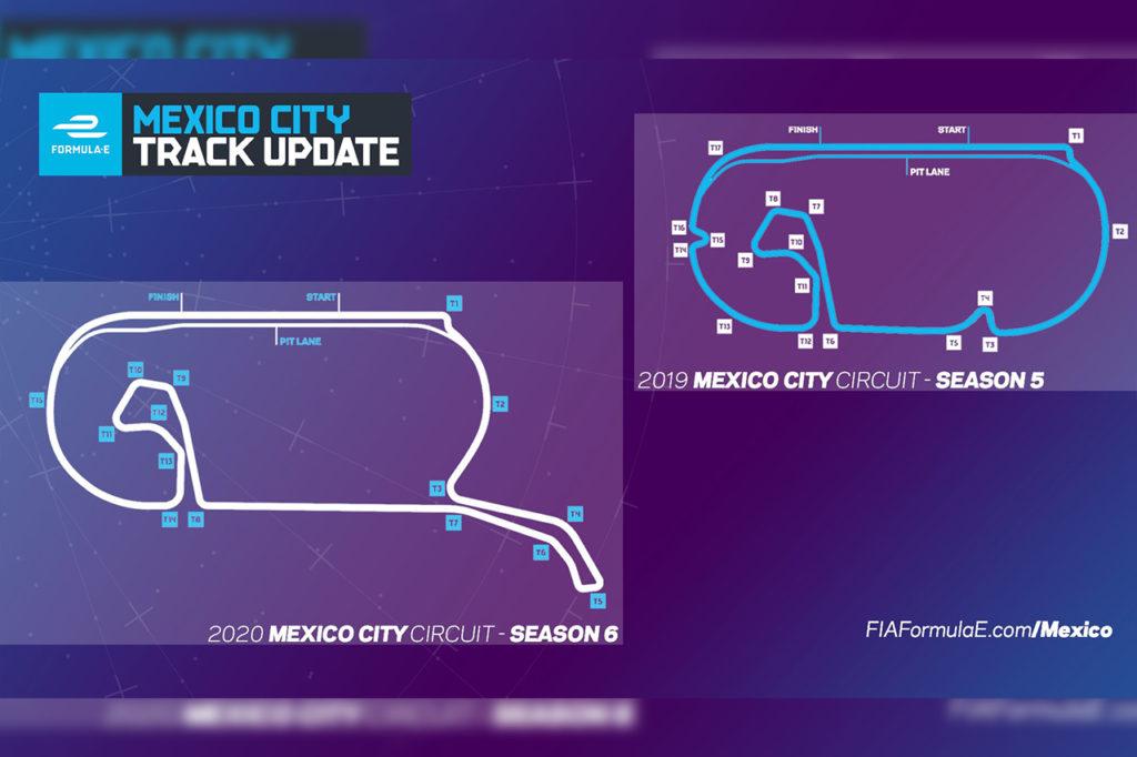 Formula E | Città del Messico cambia layout e si rinnova per il 2020