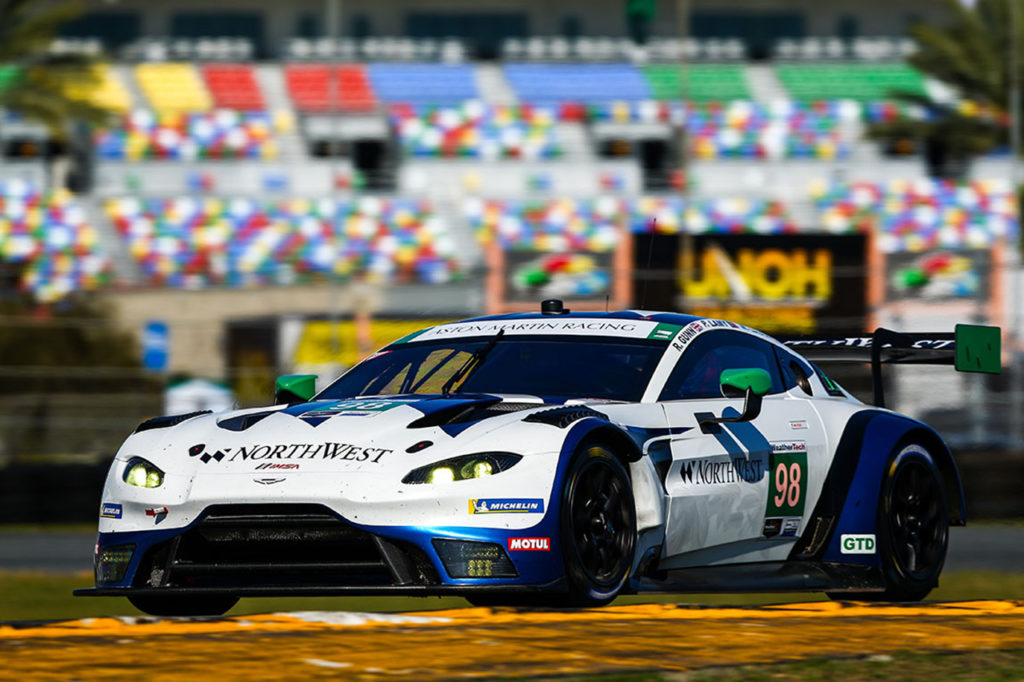 IMSA | Due Aston Martin tra le GTD a Daytona, Watson sostituisce Dalla Lana