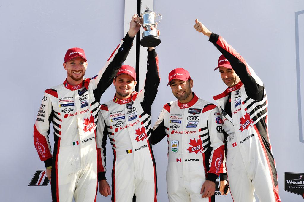 IMSA | Audi a podio alla 24 Ore di Daytona con WRT Speedstar Audi Sport