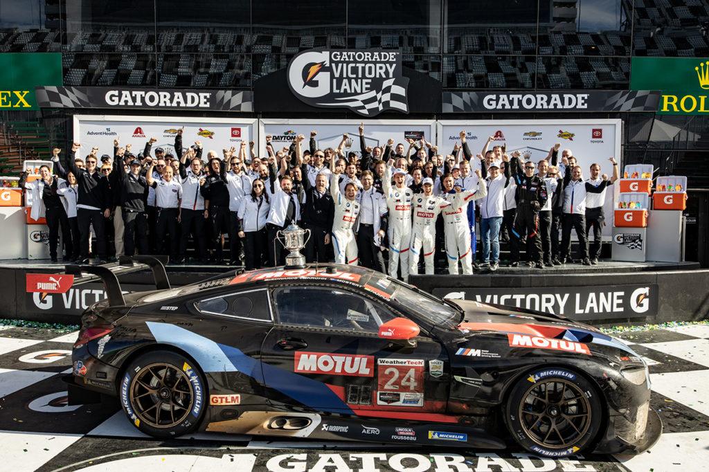 IMSA | BMW vince ancora alla 24 Ore di Daytona tra le GTLM