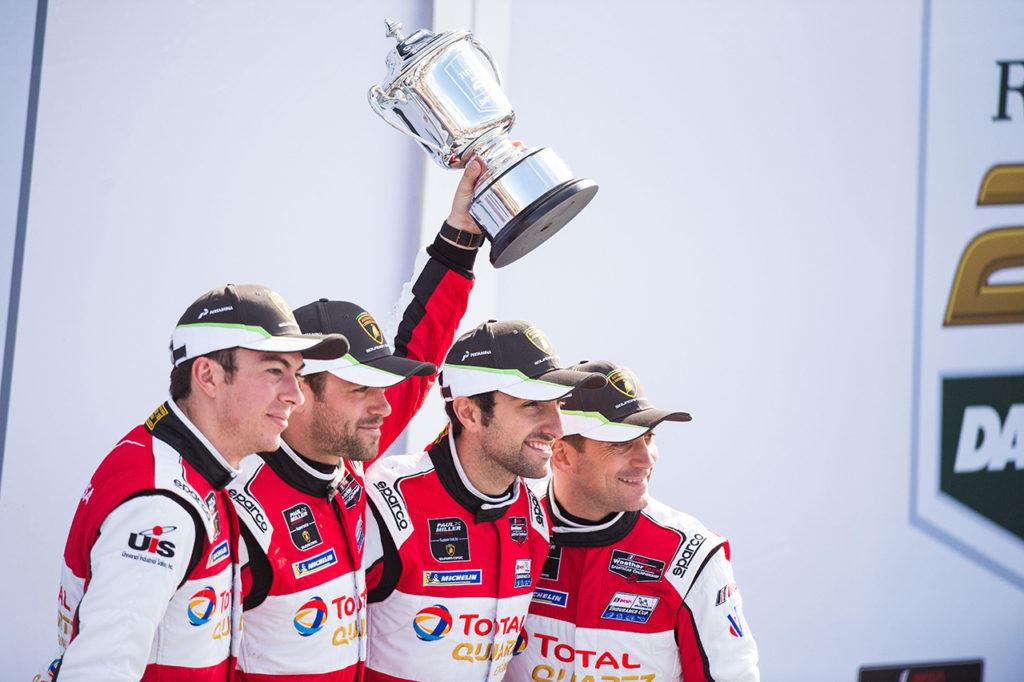IMSA | Lamborghini trionfa alla 24 Ore di Daytona per il terzo anno consecutivo