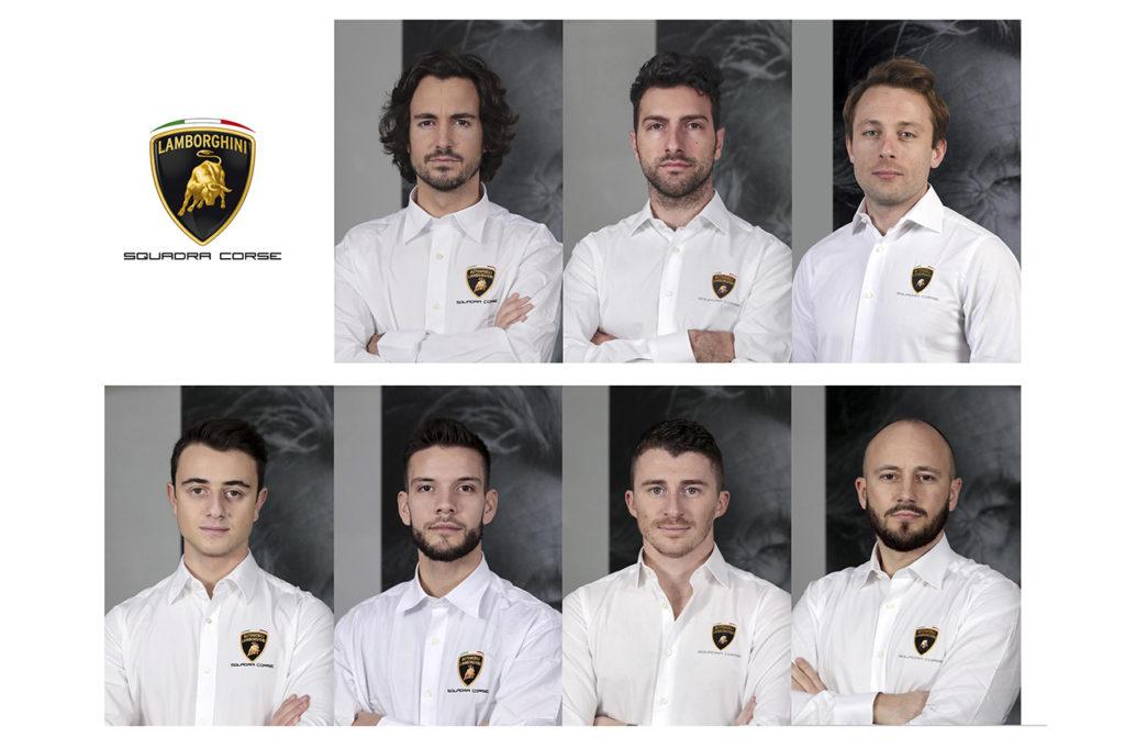 Lamborghini svela i piloti ufficiali del 2020, ecco Giacomo Altoè e Costa