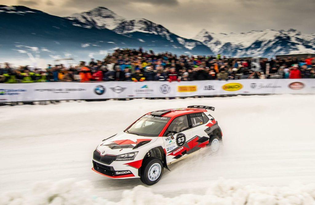 GP Ice Race, Kreim su Skoda domina la Ice Race of Champions. Pirelli presenta il Sottozero Ice per il Rally Svezia