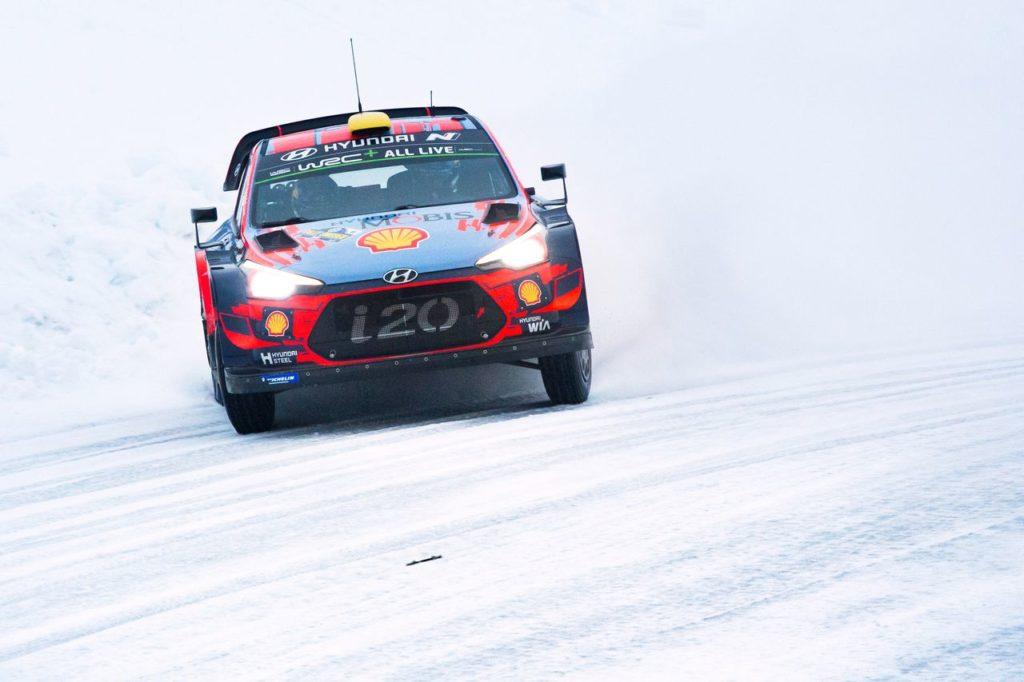 WRC | Hyundai cerca già la fuga in campionato in un Rally Svezia ridotto