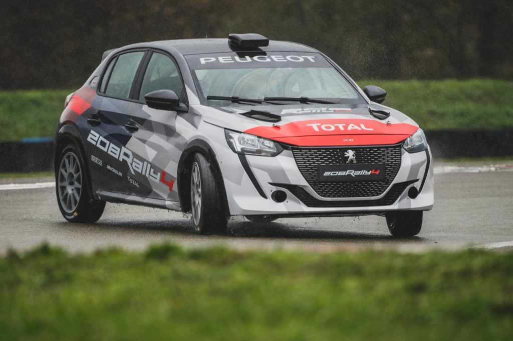 ERC | Sainteloc farà debuttare la nuova Peugeot 208 Rally 4 nell'ERC3