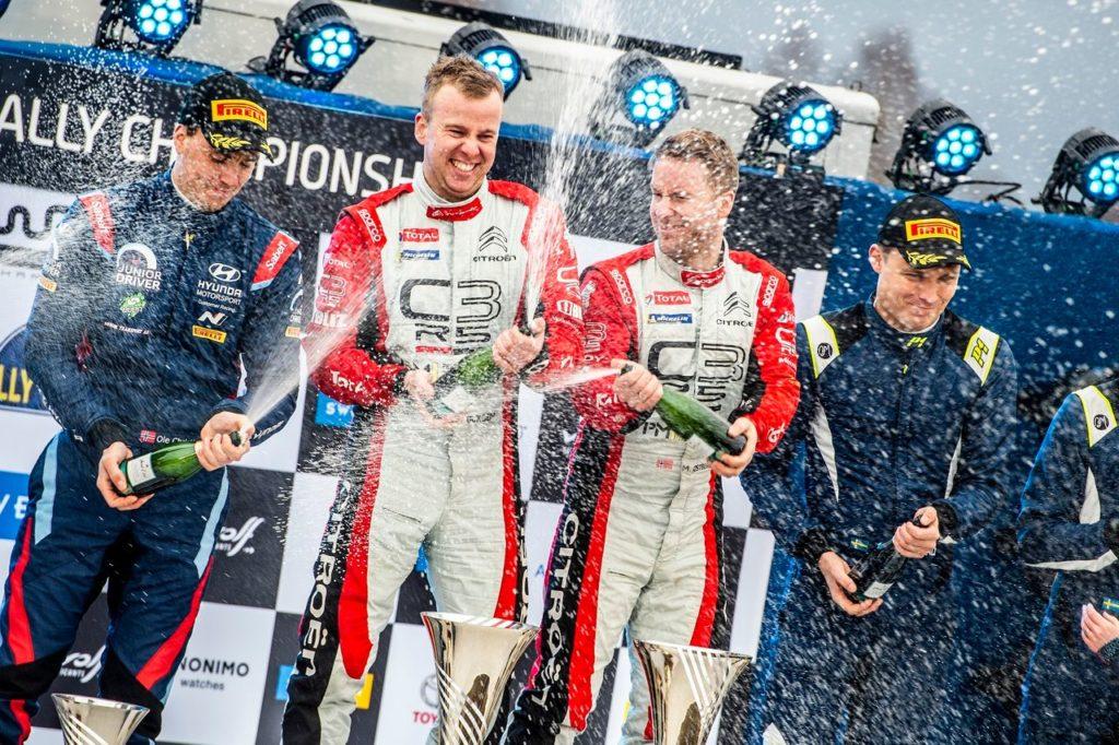 WRC | Rally Svezia, secondo successo consecutivo per Ostberg e Citroen nel WRC2