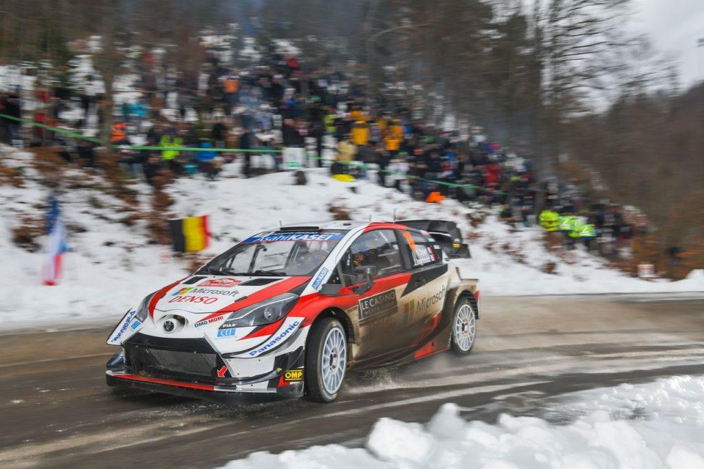 WRC   Rally Svezia 2020, prima mattinata: Evans in testa, Tanak vince la sua prima prova speciale