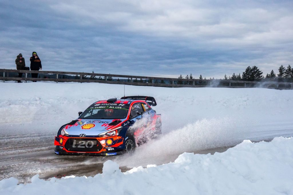 WRC | Rally Svezia 2020, i test dei team (a sorpresa anche Toyota con Ogier) [VIDEO]