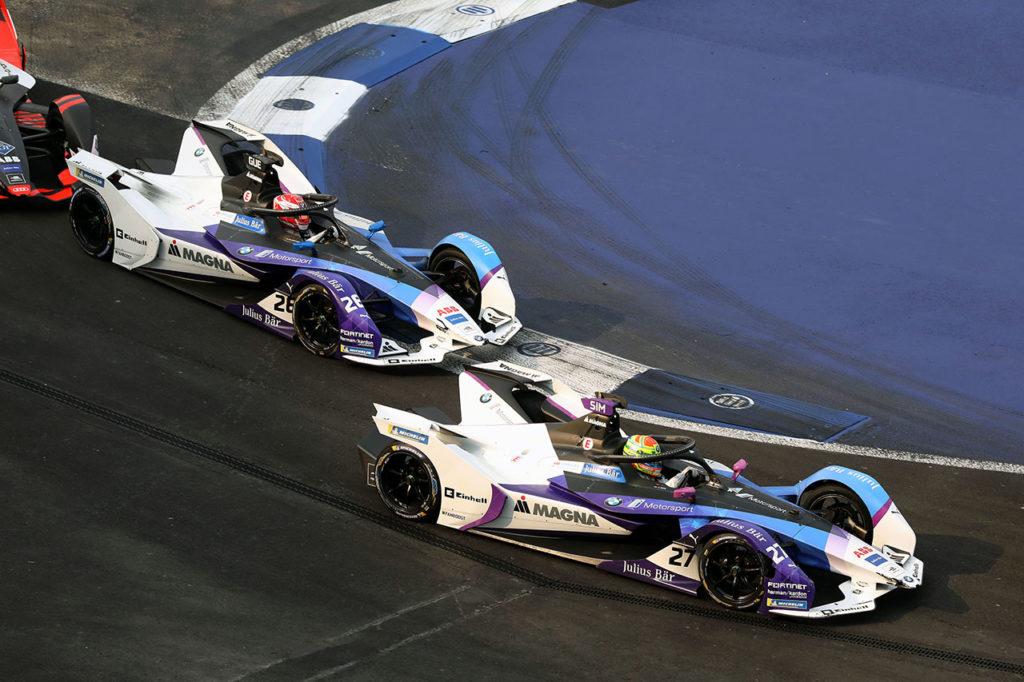 Formula E | Gran recupero dal fondo di Sims e BMW a Città del Messico