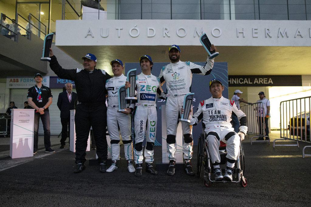 Jaguar I-Pace eTrophy | Jimenez vince ancora a Città del Messico