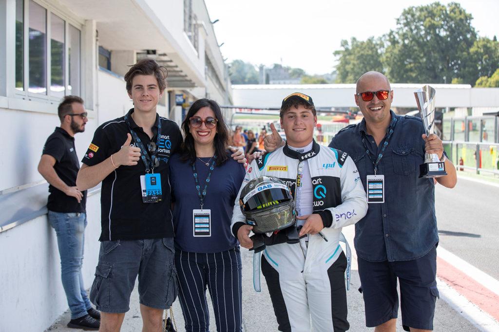 smart EQ fortwo e-cup | Longo e Coldani: due giovani promesse dal Trofeo Junior