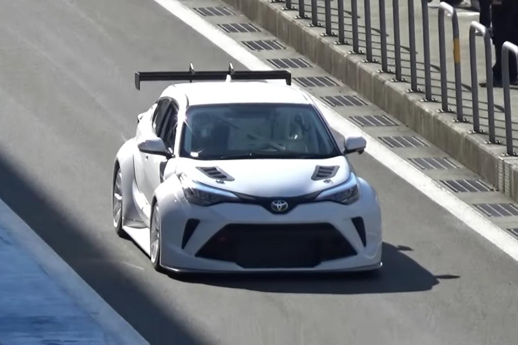 WTCR | Avvistata una misteriosa Toyota C-HR TCR al Fuji [VIDEO]