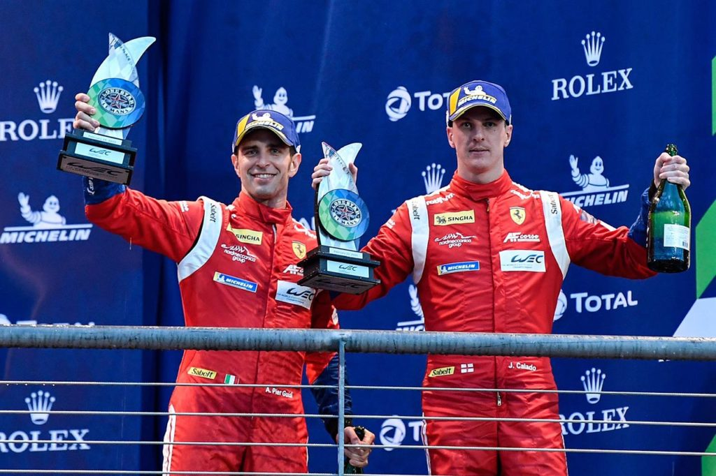 WEC | Grande prestazione di Ferrari e AF Corse con Pier Guidi e Calado ad Austin