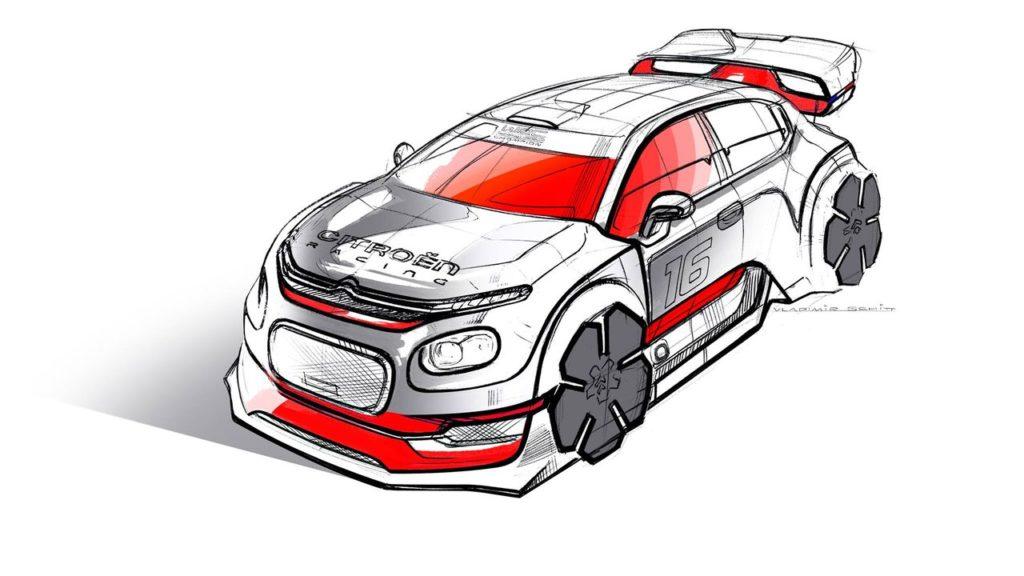 La Citroen C3 WRC che sarebbe potuta essere, secondo Sketch Storm