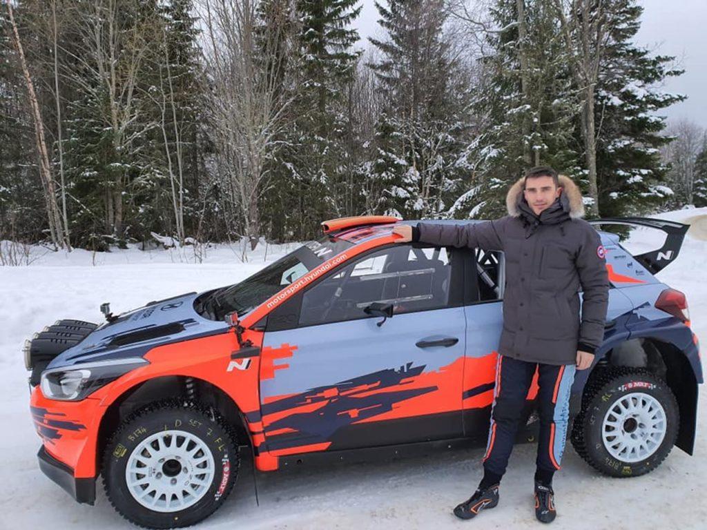 Craig Breen e MRF Tyres verso l'ERC 2020, dopo il podio in Finlandia e l'incursione al West Cork Rally