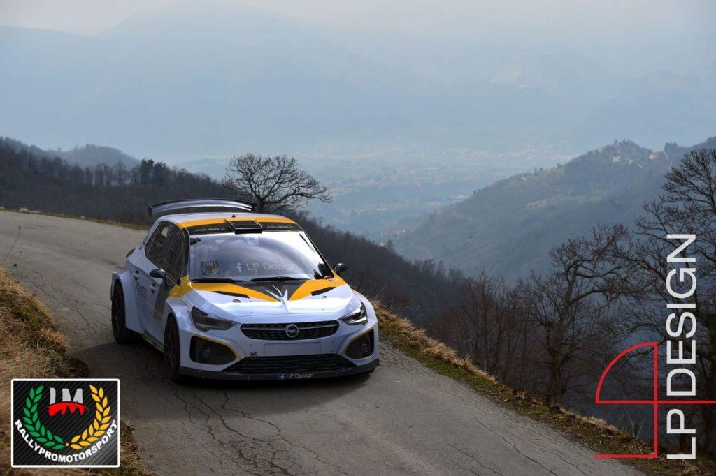LP Design realizza il concept della Opel Corsa GSi R5