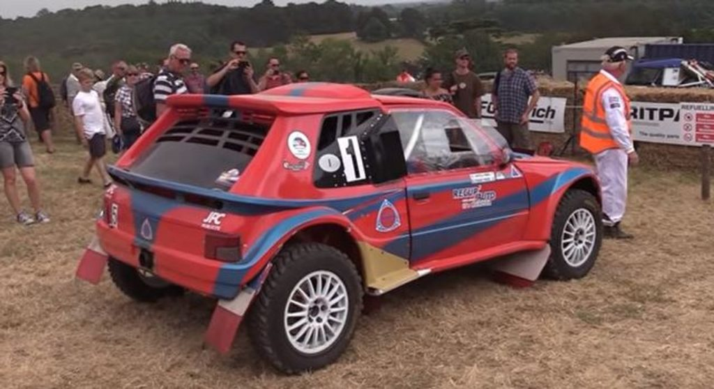 L'incredibile suono della Peugeot 205 modificata da Vincent Foucart [VIDEO]