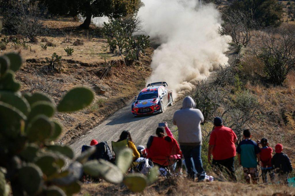 WRC | Hyundai a caccia della prima vittoria nel Rally Messico