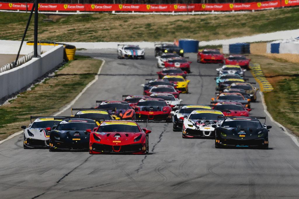 Ferrari Challenge | Coronavirus, modificati i calendari delle Corse Clienti