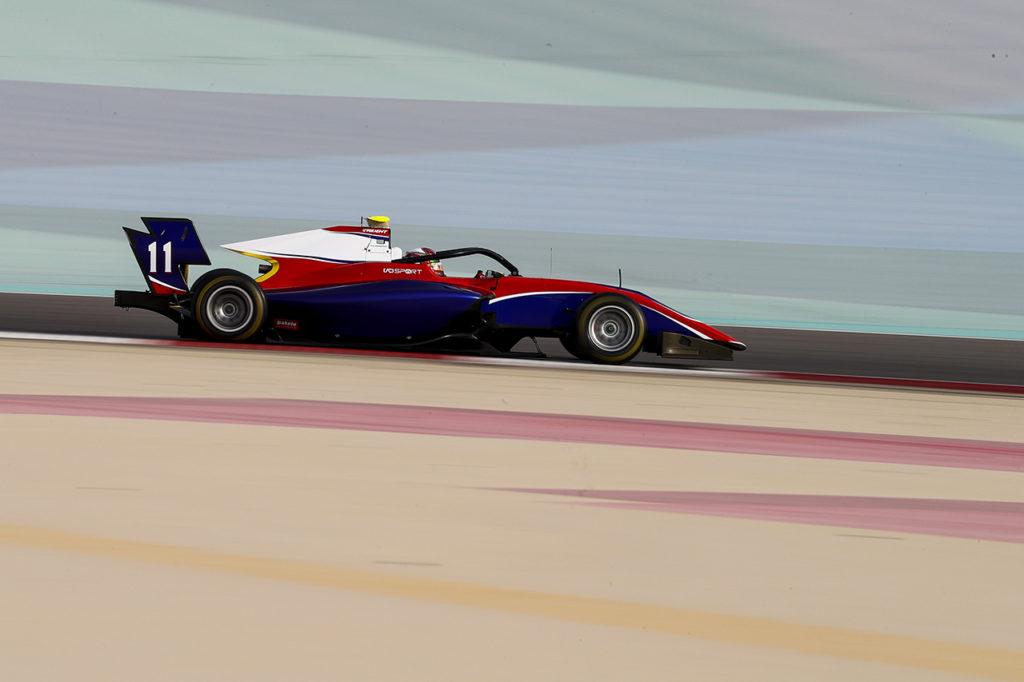 FIA F3 | Test Sakhir, Giorno 1: DeFrancesco chiude il pomeriggio in vetta con Trident