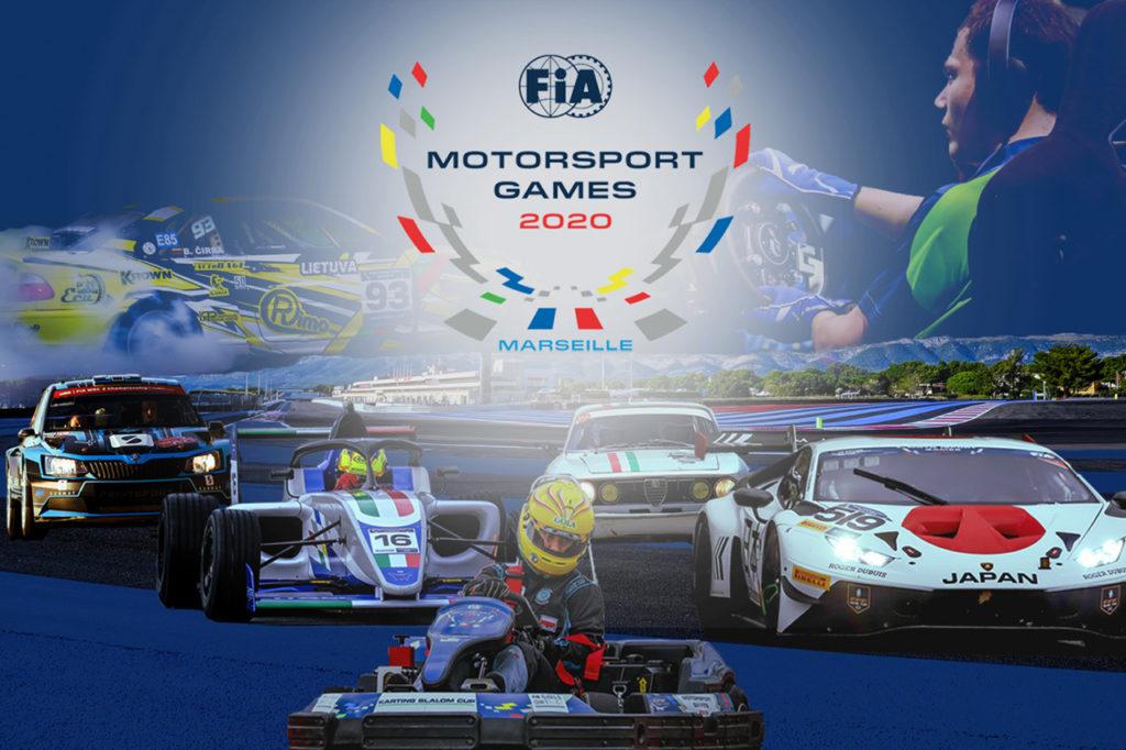 FIA Motorsport Games | Salgono a 15 le discipline per la seconda edizione in Francia