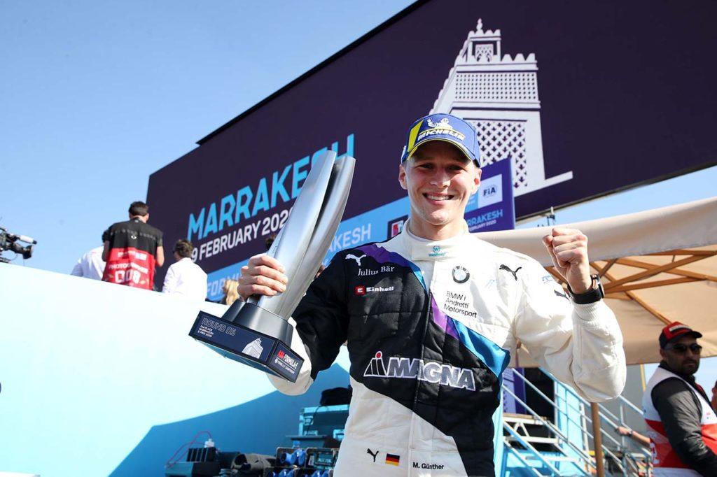 Formula E | BMW centra ancora il podio con Guenther a Marrakech
